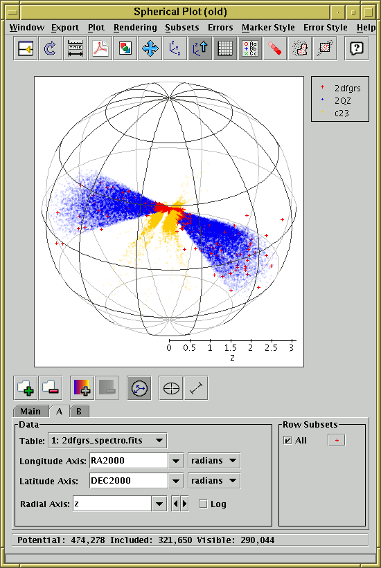 Spherical Plot (old-style)